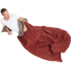 VAUDE Gamplüt 250 Syn Sleeping Bag cherrywood